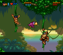 Ah but then there are nice moments like this that scream mid '90s SNES and all those long, lazy weekends you played it with your bro and best bud!