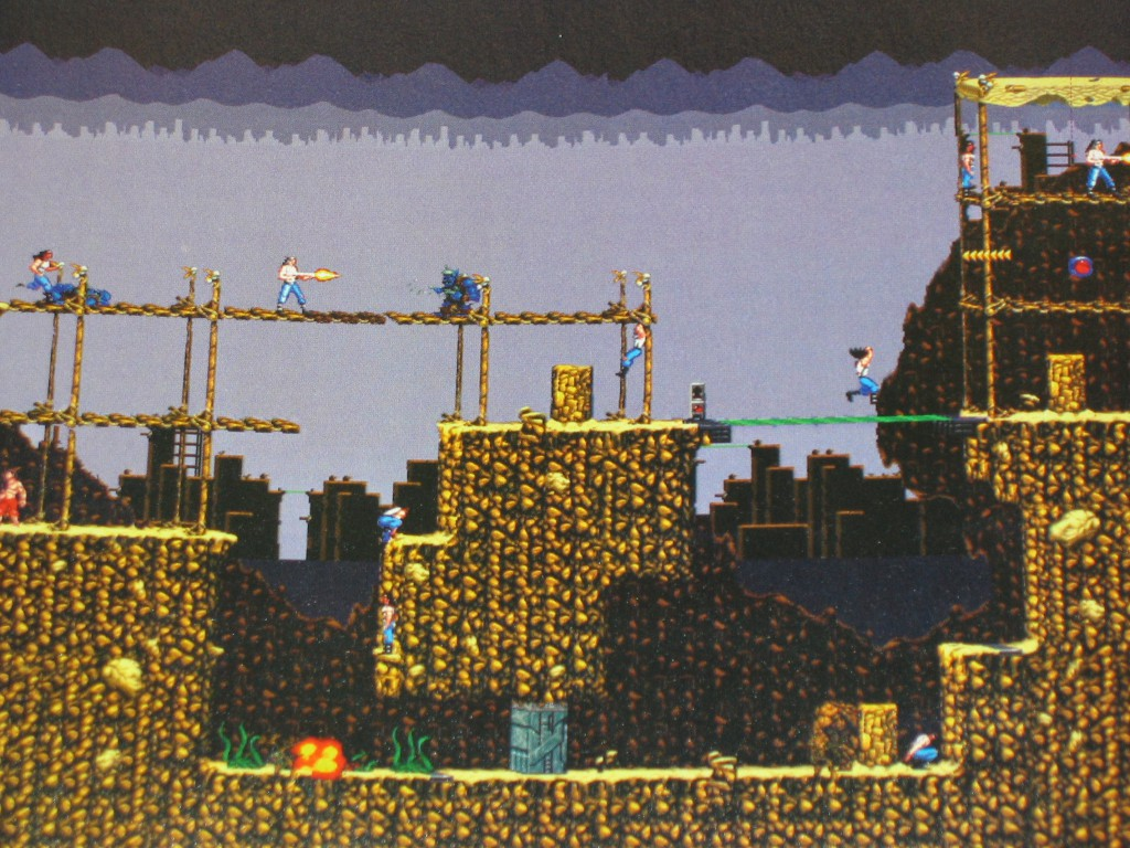 Blackthorne's world consists of grims and grays. The bleak, desolate feel of the game is deliciously palpable