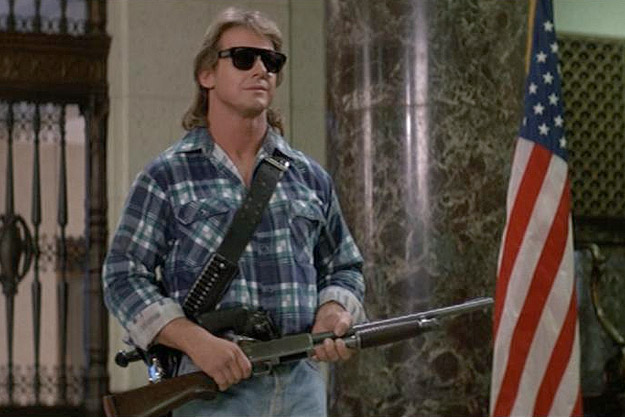 Kyle Blackthorne reminds me of Roddy Piper's character from the cult classic, THEY LIVE. R.I.P Hot Rod